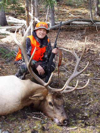 Colorado rifle elk hunting semi guided non guided for Colorado fishing license cost