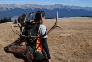 Epic Elk Hunt with Epic Views