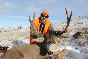 Great old mature buck for Gilbert!