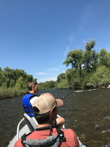 Float Fishing on the Gunnison River