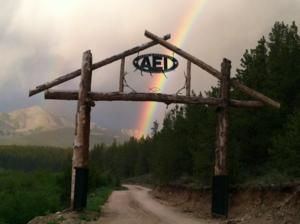 AEI Camp Entrance