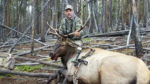 Jeff tags out on a great Colorado bull