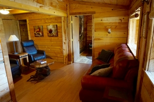 Sage Cabin - Lounge Room