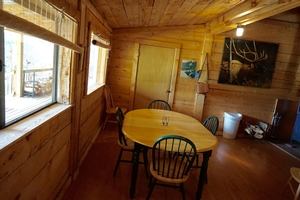Sage Cabin - Dining Room