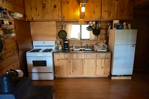 Sage Cabin - Kitchen