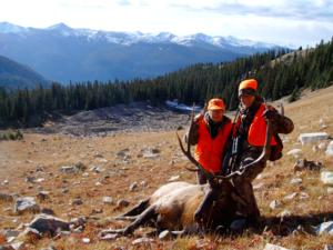 Colorado muzzleloader elk hunting semi guide unguided for Md fishing license cost